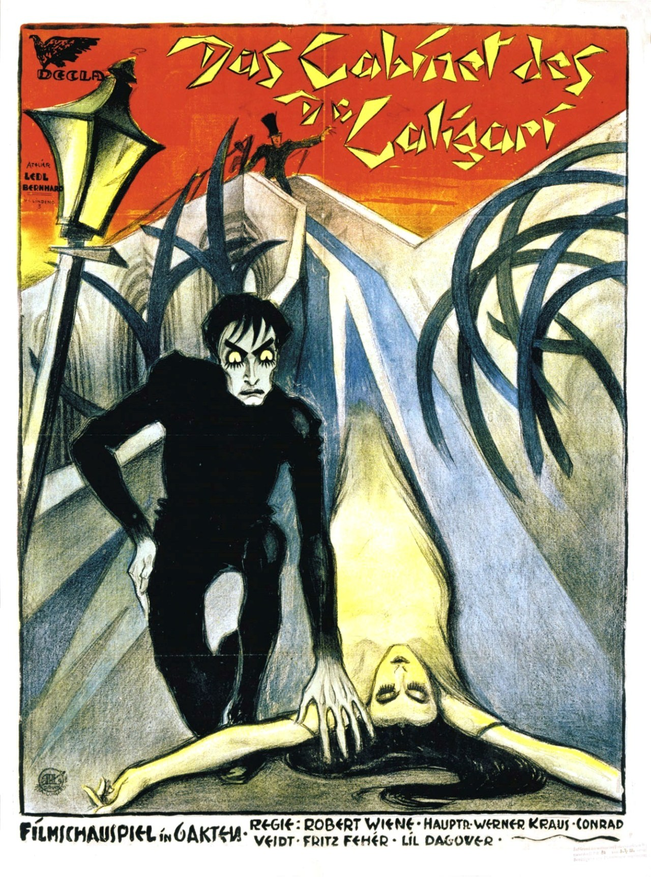 Poster for The Cabinet of Dr. Caligari (1920)