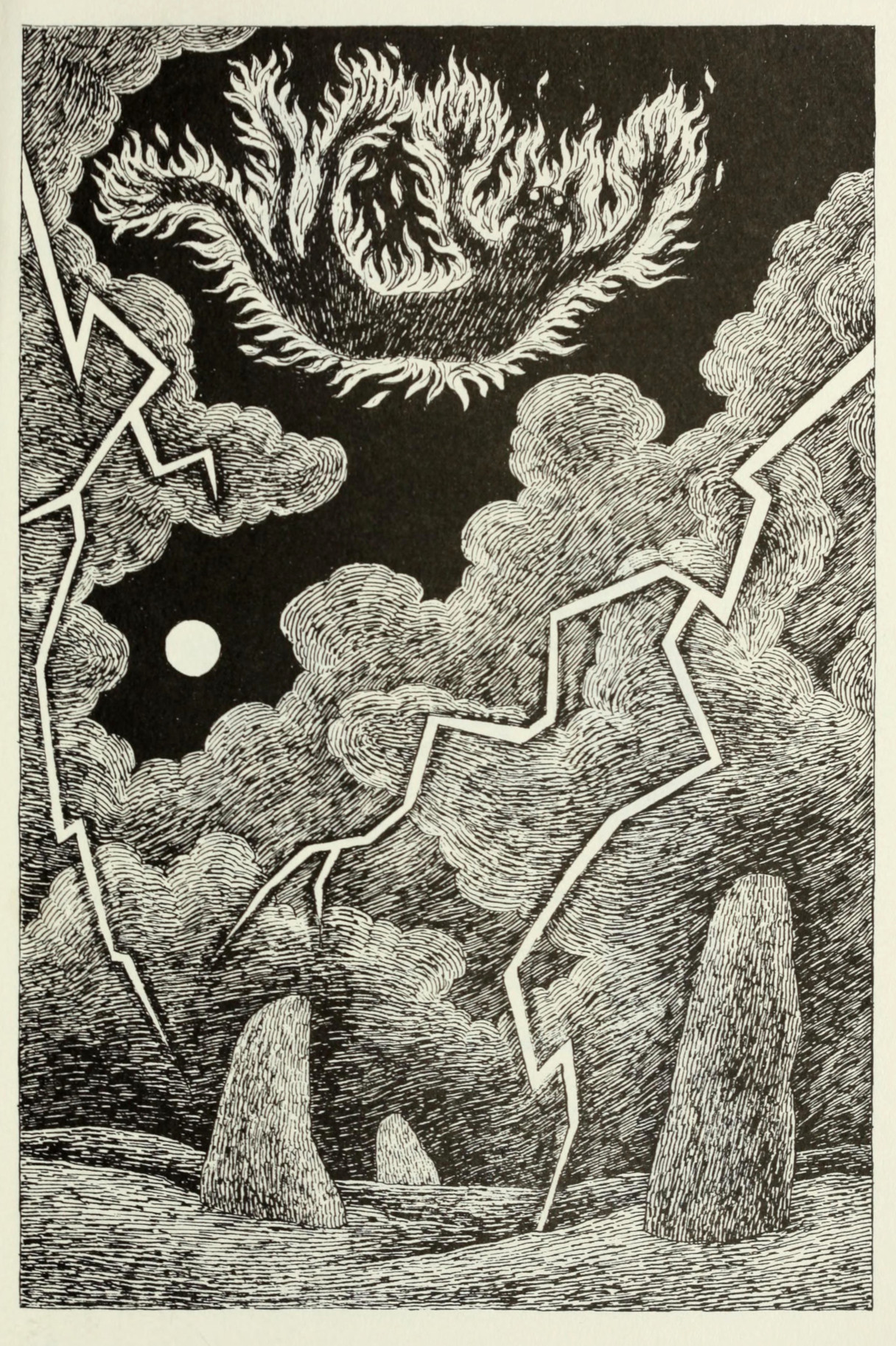 Fireforefiddle, the Fiend of the Fell by Edward Gorey (1982)