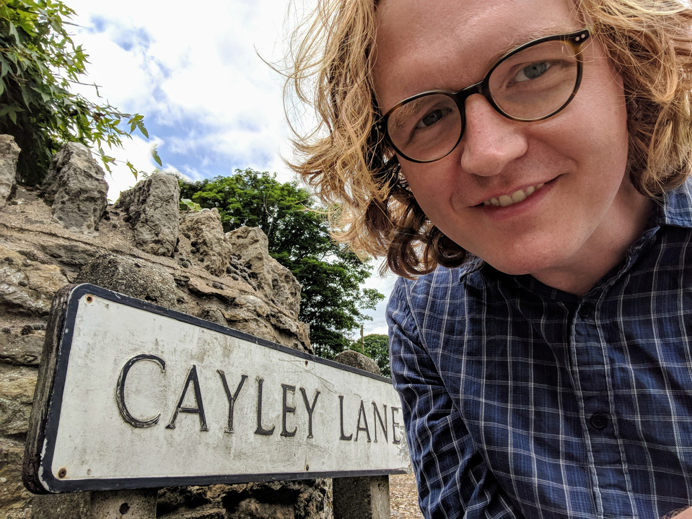 Carl McTague on Cayley Lane (2018)