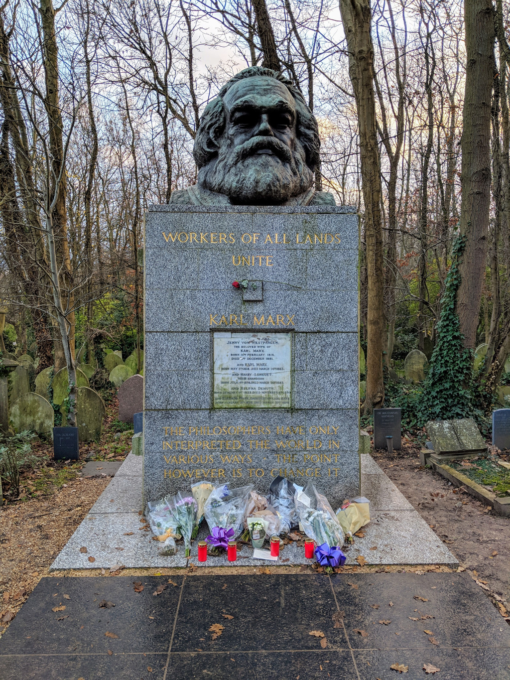 Marx at Highgate (2018)